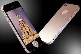 Stuart Hughes iphone 4 Diamond Rose The worlds most expensive