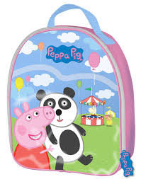Amazon Peppa Pig Fairground Lunch Box Bag Childrens Boxes Kitchen Dining