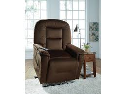 Signature Design by Ashley Living Room Power Lift Recliner Four