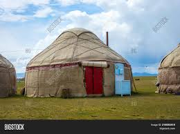 100 Nomad House Yurt Image Photo Free Trial Bigstock