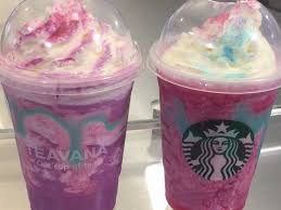 Starbucks Unicorn Frappuccino Transforms Color And Flavor