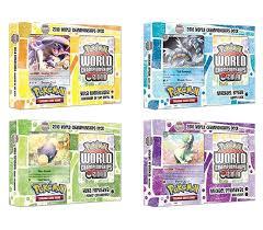 pokemon 2010 world chionship deck box da card world