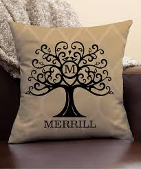 Personalized Planet Tree Personalized Throw Pillow