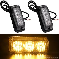 2 Pack 3 Led Car Flash Light Drl For Jeep Suv Truck Emergency ... Ijdmtoys Strobe Flash Led Cab Roof Light Kit Youtube Str242led Review Cop Car Style 1 Car Truck White Warning Emergency Beacon Ford Americas Truck Leader And The Only Automaker To Offer An Auto Windshield 14 Mode 9w 9 Led Trucklite Hideaway Remote Soundoff Signal F150 Four Corner 1517 Kits For Plow Trucks Iron Blog Lights Onlineledstorecom Motor Co Adds Strobe Light Kit For Fleet Owner