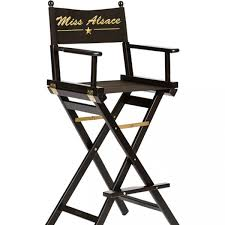 siege metteur en chaise haute de maquillage personnalisée professionnelle