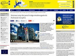 siege parlement europeen 114 millions par an le surcoût des deux du parlement européen