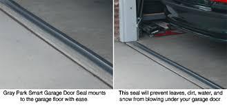 Park Smart Tsunami Seal™ Garage Door Seal Seal out the elements
