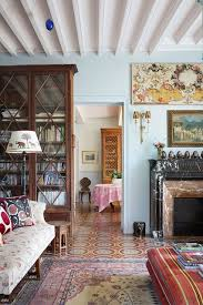 Country Style Living Room Pictures by Cosy Blue Living Room Country Style Living Rooms Houseandgarden