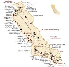 Ca State Map Califor California With Cities Park Camping Simply Simple