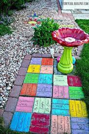 Winsome Simple Diy Garden Art Ideas