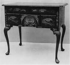 Governor Winthrop Desk Furniture by Boston Japanned Furniture Colonial Society Of Massachusetts
