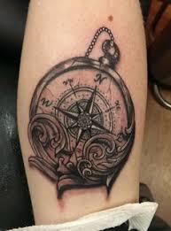 Compass By Dean Barlow Elmira New York Strongarm Tattoo