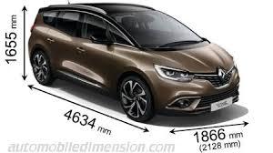 dimensions des voitures renault longueur x largeur x hauteur
