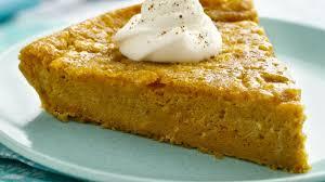 Pumpkin Pancakes With Gluten Free Bisquick by Gluten Free Impossibly Easy Pumpkin Pie Recipe Bettycrocker Com