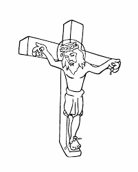 Jesus Died On The Cross Coloring Pages