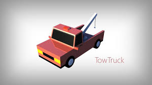 100 3d Tow Truck Games 3D Model Low Poly Toon Type Cars Pack With 10 Plus