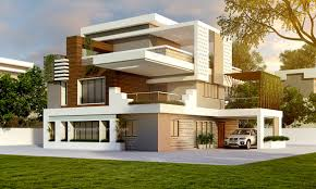 100 Home Dision 3d Exterior House Design Single Family Home By Thepro3dstudio Homify