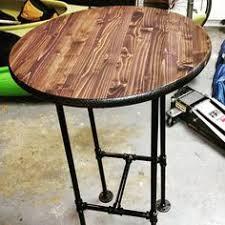 built this high top table pallet wood seven ten pinterest