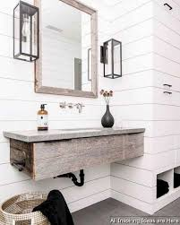 Minimalist Modern Farmhouse Small Bathroom Decor Ideas 38 ... Contemporary Bathroom Decorating Ideas With Modern Square Pedestal Image 14334 From Post Easy Great Simple Small Bathroom Decorating Ideas Cute Fittings Presenting Double Vanity 25 Best Bathrooms Luxe With Design 100 Decor Ipirations For Classy Wonderful Glass Chandelier And Tile Tiles Small Master Designs Remodel Inspiration Contemporary Bathrooms Modern 6 Magical For Your 30 Private Heaven Freshecom Minimalist Farmhouse Decor 38