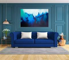 großes abstraktes gemälde moderne kunst 120cm acryl auf leinwand