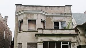 MS TU TD Run Down Apartment Building Day
