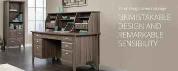 Sauder Shoal Creek Dresser Diamond Ash by Sauder Shoal Creek Desk And Hutch Best Home Furniture Design
