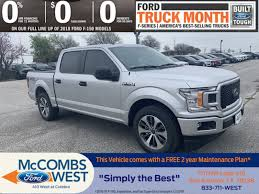 100 Ford Trucks Through The Years New 2019 F150 XL Crew Cab Pickup In San Antonio 991121 Red