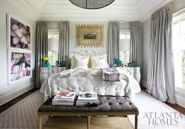 gray curtains contemporary bedroom atlanta homes lifestyles