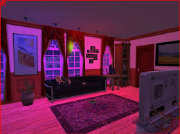 mod the sims colored ceiling bulbs with colored light nl ofb