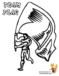Action Football Coloring Pages To Print