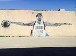 Deep Ellum Murals Address by Dallas Mavericks Dallas Texas Dirk Graffiti Art Hidden In Deep