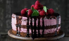 himbeer basilikum torte
