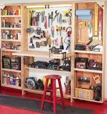 Build Wood Garage Shelf by Build Wood Garage Storage Cabinets Premium Woodworking Projects