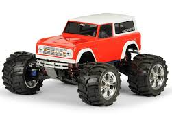 100 Rc Truck Bodys ProLine 1973 Ford Bronco Body Clear PRO331360 Cars S