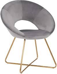 duhome esszimmerstuhl stoffbezug samt konferenzstuhl besucherstuhl herausragendes design farbauswahl 439d farbe grau material samt