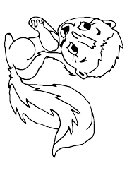 Animal Coloring Pages Cute