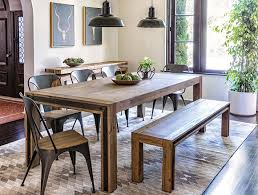 Industrial Dining Room With Amos Extension Table