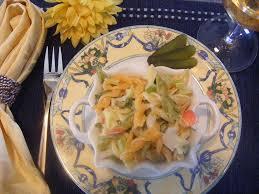salade de pâtes tricolores à la goberge recettes du québec