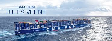 cma cgm jules verne le plus grand porte conteneurs au monde et