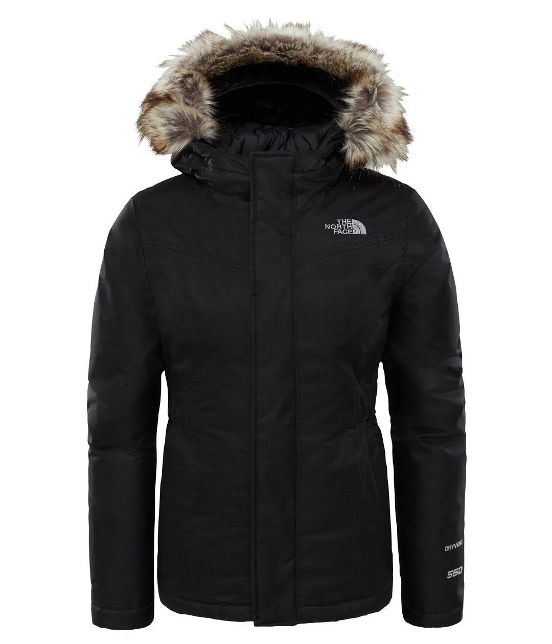Girls The North Face Black Greenland Down Parka - Black