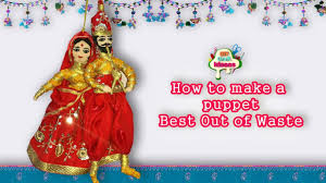 Puppet Tutorial Make Easy Crafts Ideas At Home Puppetdoll Girls