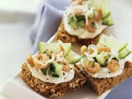 cucumber canapes cucumber and shrimp canapes recipe eat smarter usa
