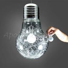 shop 150mm 300mm modern glass big led bulb dining room bar