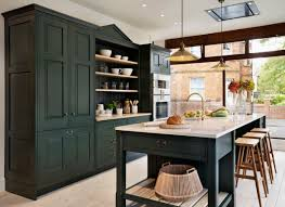 Cream Kitchen Cabinets Dark Green Granite Countertops With Oak Painting Black Countertop Gray Backsplash Ideas For Cupboard Painted Cabinet How Often To
