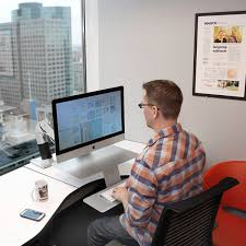 Ergotron Sit Stand Desk Manual by Ergotron 24 414 227 Workfit A Standing Desk Arm For Apple Imac