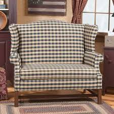 Wingback Settee Such Beautiful Furniture From Irvins