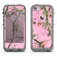 The Pink Real Camouflage Apple iPhone 5c from DesignSkinz
