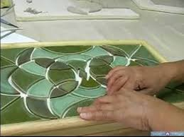 how to make a mosaic table top how to arrange tiles for a mosaic