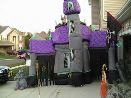 Walmart Halloween Inflatables 2012 by Inflatable Haunted House Large 2008