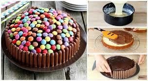 rezept für bunte smarties torte